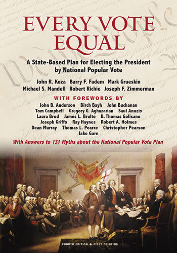 Every Vote Equal Front Cover